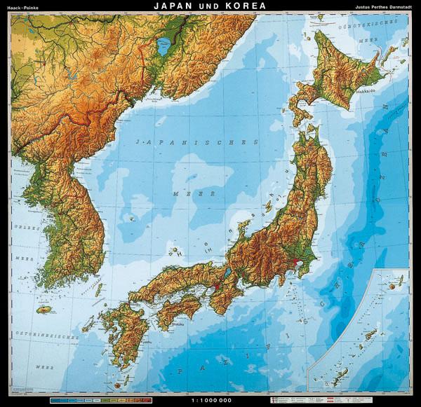 japán domborzati térkép Meló Diák Taneszközcentrum Kft fizikai kémiai taneszközök iskolai  japán domborzati térkép