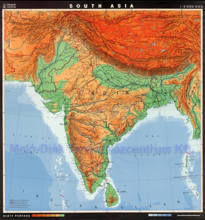 india domborzati térkép Európa térképe, Észak Amerika térképe, Dél Amerika térképe, Afrika  india domborzati térkép