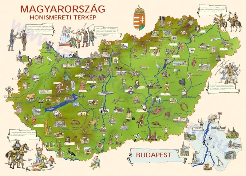 térkép magyarország kereső Magyarország honismereti térképe magyarország honismeret térkép  térkép magyarország kereső