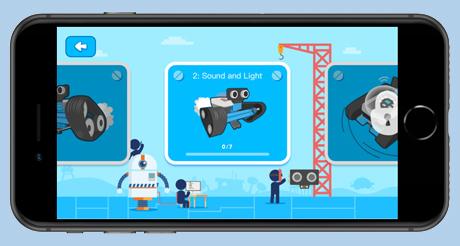 Játékos tanulás mBlock Blockly App