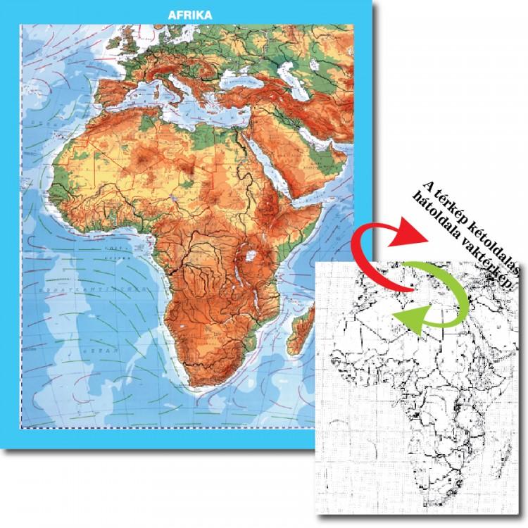 Afrika Domborzata Hatoldala Politikai Vakterkep Duo Afrika